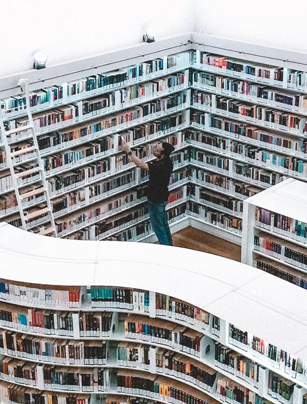 Los millones de libros...